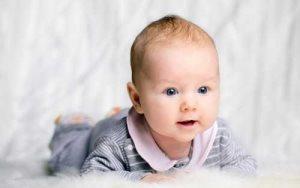 Пятно на затылке у новорожденного