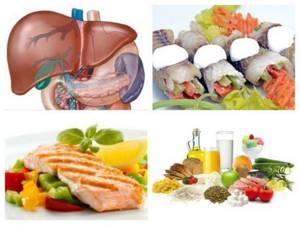 Диета при циррозе печени и асците, меню лечебного питания