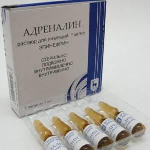 Список препаратов адреналина, применение в медицине